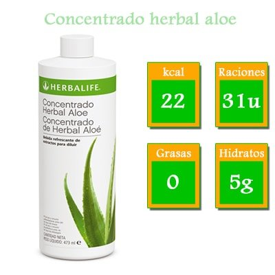 comprar concentrado herbal aloe