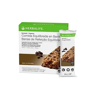 comprar barrita herbalife chocolate