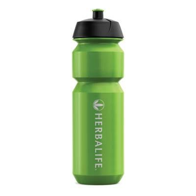 botella deportiva herbalife verde