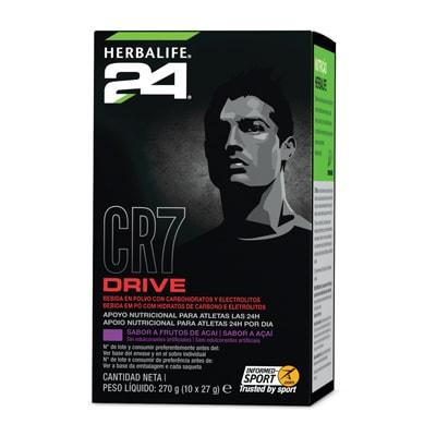 alimentación deportiva CR7 Drive sobres