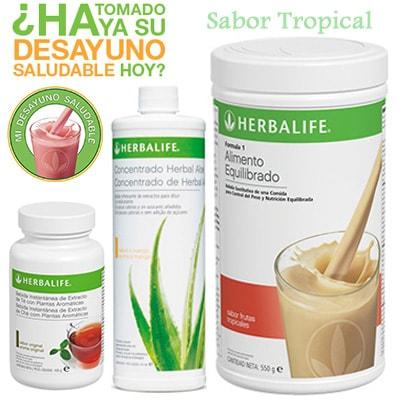 Comprar Desayuno Saludable Herbalife Tropical