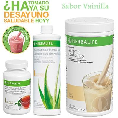 comprar Desayuno Saludable Herbalife Vainilla