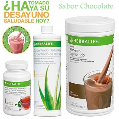 Comprar Desayuno Saludable Herbalife Chocolate