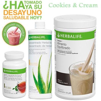 Comprar Desayuno Saludable Herbalife Cookies