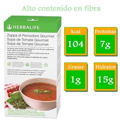 comprar sopa de tomate herbalife