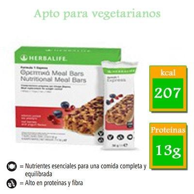comprar barritas herbalife frutos rojos